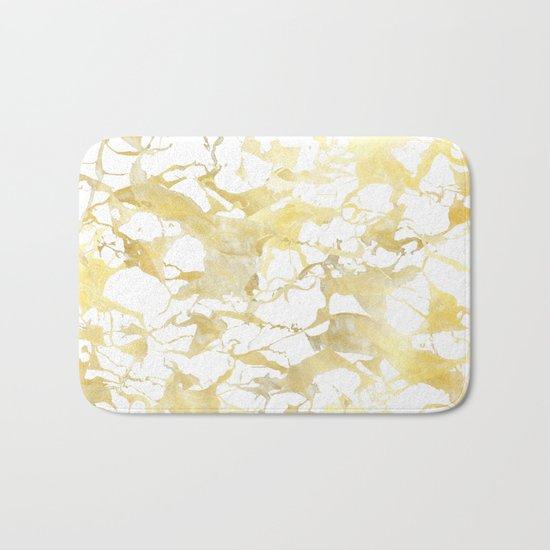 Marble gold Bath Mat