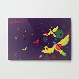 Cosmic flight Metal Print