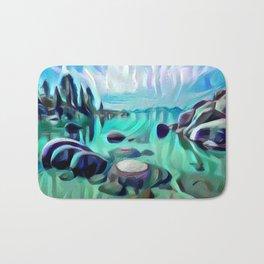 Sand Harbor Bath Mat
