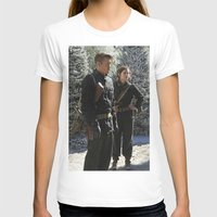 peggy carter T-shirts featuring Jack Thompson & Peggy Carter. by agentcarter23