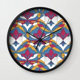 Interwoven XX_Raspberry Wall Clock