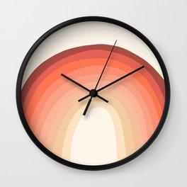 Rosey Wall Clock