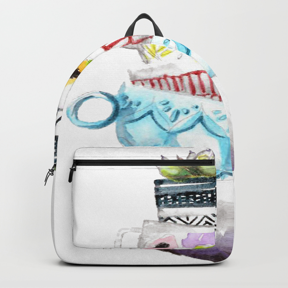 Cups On Cups On Cups Backpack by Hapticdrifter BKP8656197