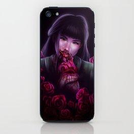 Dangerous as a Rose iPhone Skin
