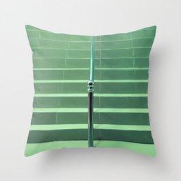 Green Throw Pillow