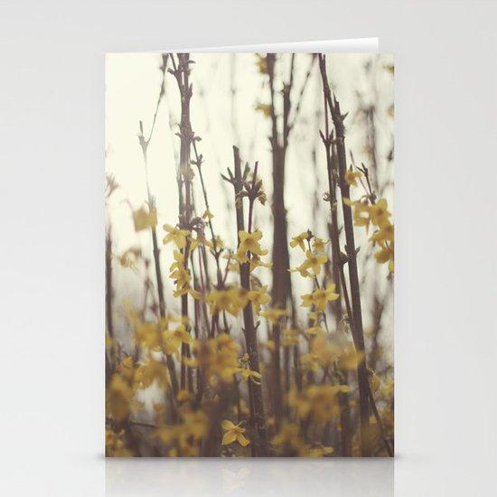 Golden Bells Stationery Cards