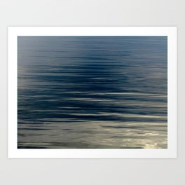 Beautiful Calm Coastal Waters Art Print