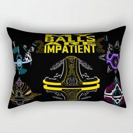 LEAGUE OF LEGENDS . ORIANNA's Pet Ball Rectangular Pillow