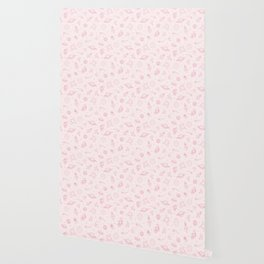 Pink Space Pattern Wallpaper