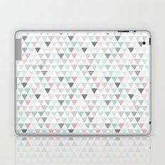 Geometric pastel triangle scandinavian style aztec print Laptop & iPad Skin