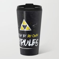 Legend of Zelda Inspired Type I Play by My Own Hyrules Travel Mug