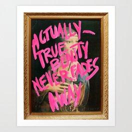 TRUEBEAUTY Art Print