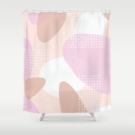 Pebbles Theme #2 Shower Curtain
