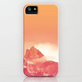 PEACHY PEAK iPhone Case