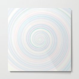 Re-Created Spin Painting No. 18 by Robert S. Lee Metal Print