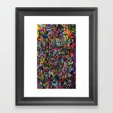 Voltage Framed Art Print