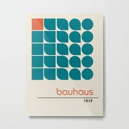 Vintage poster-Bauhaus 1919. Metal Print