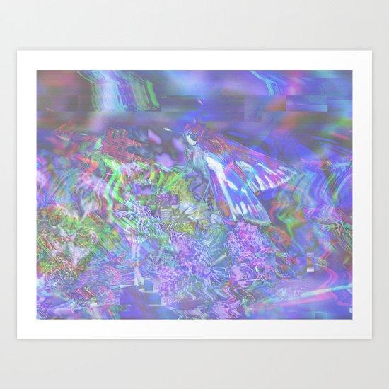Patulous (collaboration w/ Alea Bushardt) Art Print