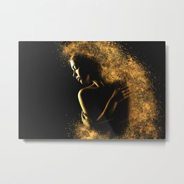 When She Explodes 3 Metal Print