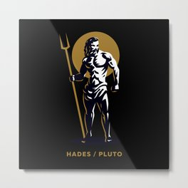 Hades / Pluto Metal Print