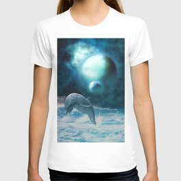 Freedom of dolphins T-shirt