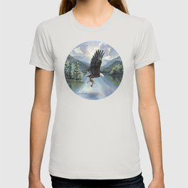 Eagle with Fish T-shirt
