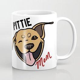 Tan Pittie Mom Coffee Mug