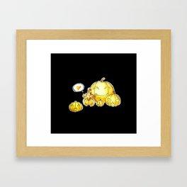 Pumpkaboo Framed Art Print
