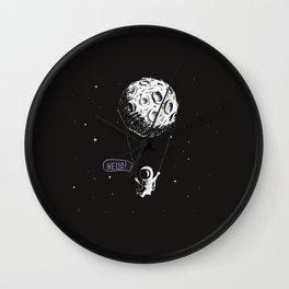 Swing Moon Wall Clock