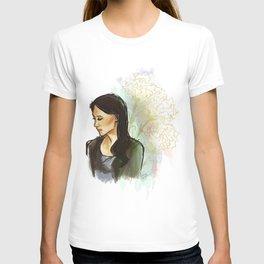 elementary: carnations T-shirt