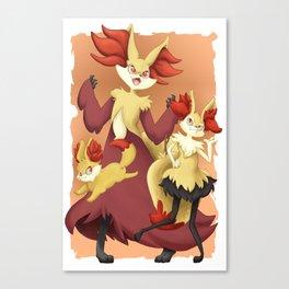 Fire Starters Canvas Print