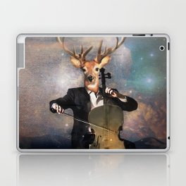 The Musican - Vinolocello Laptop & iPad Skin