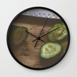 Making pickles Wall Clock