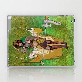 Bloom: An Awakening - Golden Impressum Lark Laptop & iPad Skin