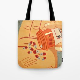 Editorial Illustration Tote Bags Society6