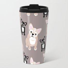 French Bulldog Puppies Travel Mug