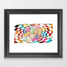 Candy Drug Framed Art Print