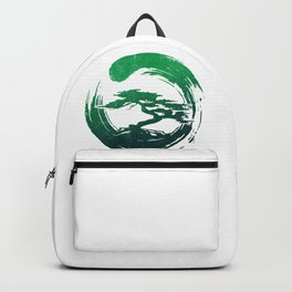 Green Bonsai in Enso Backpack