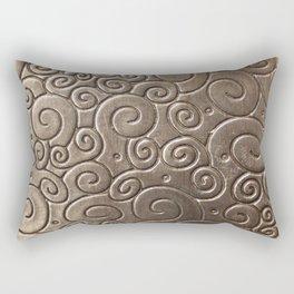 Copper volute Rectangular Pillow