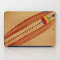 surfboard iPad Cases featuring Surfboard by Laure.B