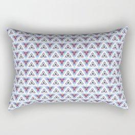 Flying Arrows Rectangular Pillow