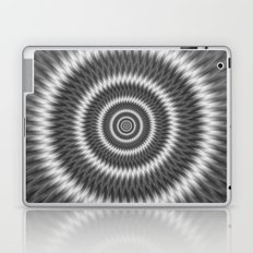 Monochrome Rings Laptop & iPad Skin