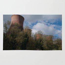Cooling Towers Of Ironbridge Rug
