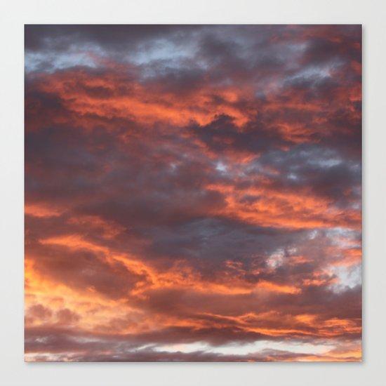 The Sun Will Set Canvas Print