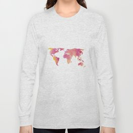 World in technicolour Long Sleeve T-shirt