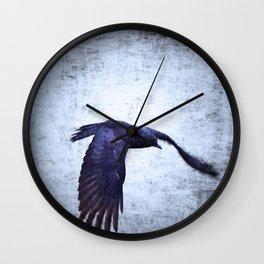 Crow Dream Wall Clock