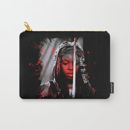 Michonne The Walking Dead Start to Finish Carry-All Pouch