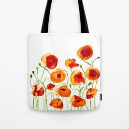 Poppy Sunrise Tote Bag