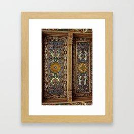 Sicilian ART NOUVEAU Framed Art Print