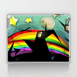 Rainbow Cut Laptop & iPad Skin